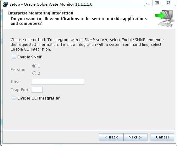 Goldengate monitor v11.1 Install for LinuxX86插图(10)