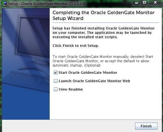 Goldengate monitor v11.1 Install for LinuxX86插图(12)