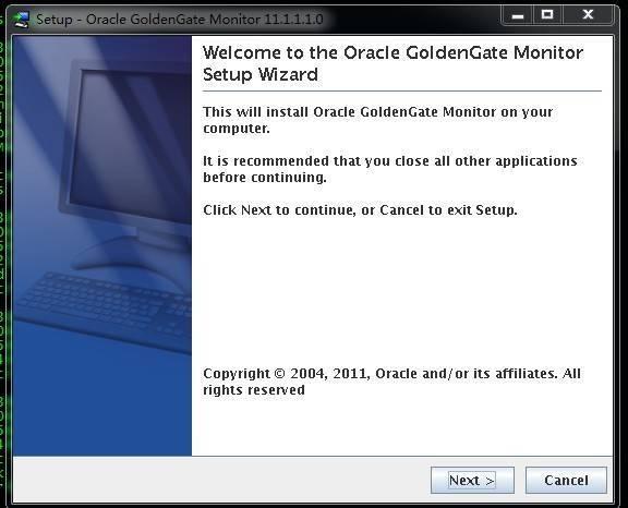 Goldengate monitor v11.1 Install for LinuxX86插图