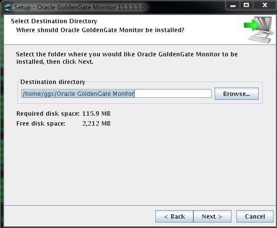 Goldengate monitor v11.1 Install for LinuxX86插图(1)