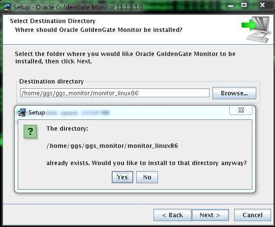 Goldengate monitor v11.1 Install for LinuxX86插图(2)