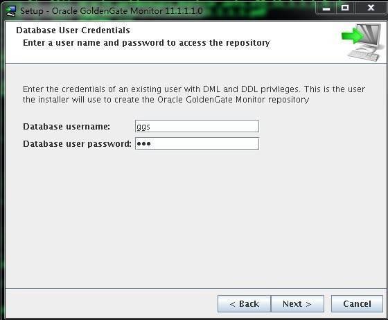 Goldengate monitor v11.1 Install for LinuxX86插图(5)